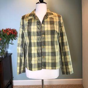 Jones New York silk jacket 16